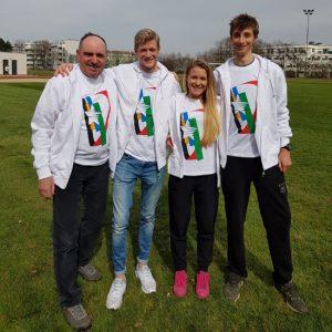 FISU Team mit SANDER, LISTABARTH, MAYER, THEUER
